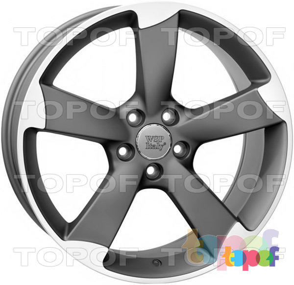 Колесные диски Replica WSP Audi W567 Giasone. Цвет колесного диска - Mist gun metal polished