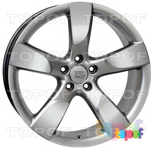 Колесные диски Replica WSP Audi W568 Vittoria. Цвет колесного диска - Hyper Silver (Насыщенный серебряный)