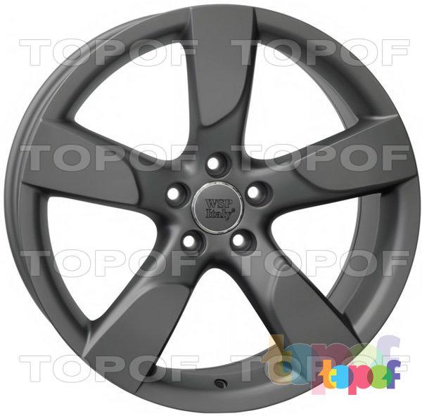 Колесные диски Replica WSP Audi W568 Vittoria. Цвет колесного диска - Mist Gun Metal (Черный матовый с дымкой)