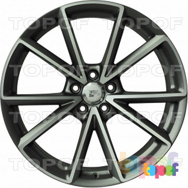 Колесные диски Replica WSP Audi W569 Aiace. Цвет антрацитовый полированный