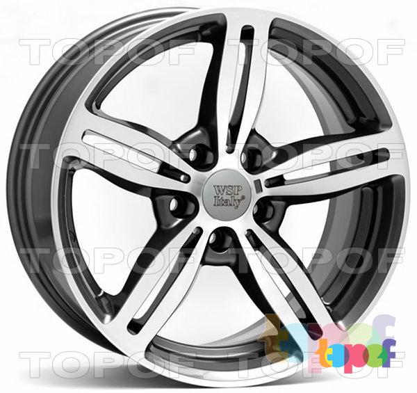 Колесные диски Replica WSP BMW W652 Agropoli. Цвет колесного диска - Anthracite polished (Антрацит полированный)