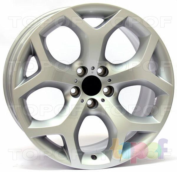 Колесные диски Replica WSP BMW W667 Hotbird X5/X6. Цвет колесного диска - Silver (Серебряный)