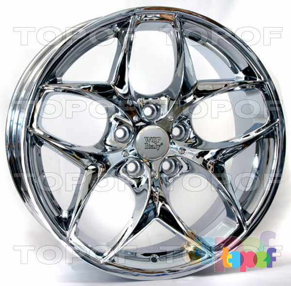 Колесные диски Replica WSP BMW W669 Hollywood. Цвет колесного диска - Chrome (Хромированный)
