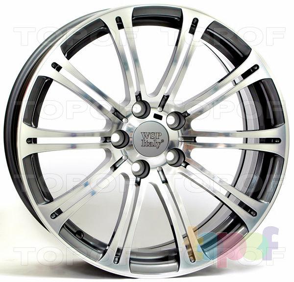 Колесные диски Replica WSP BMW W670 Luxor. Цвет колесного диска - Anthracite polished (Антрацит полированный)