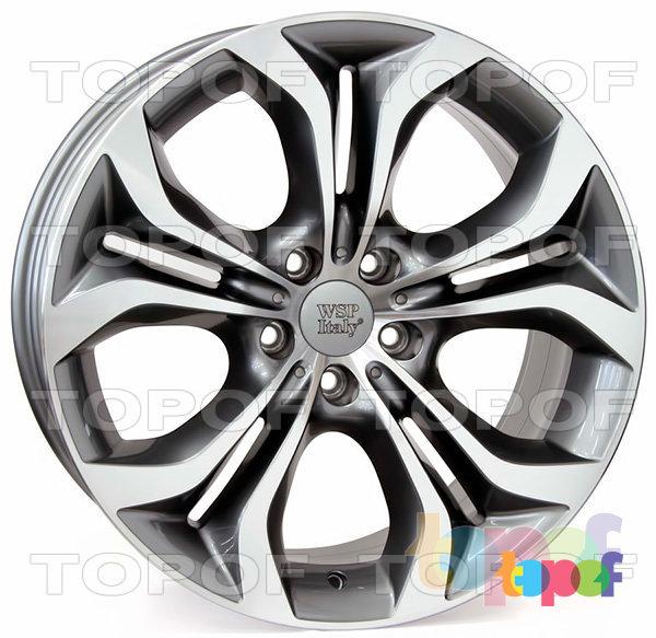Колесные диски Replica WSP BMW W674 Aura. Цвет колесного диска - Anthracite polished (Антрацит полированный)