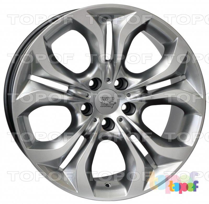 Колесные диски Replica WSP BMW W674 Aura. Цвет колесного диска - Hyper Silver (Насыщенный серебряный)