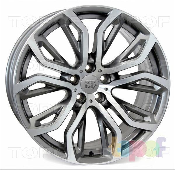 Колесные диски Replica WSP BMW W676 Everest. Цвет колесного диска - Anthracite polished (Антрацит полированный)