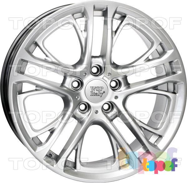 Колесные диски Replica WSP BMW W677 Xenia X3. Цвет колесного диска - Hyper Silver (Насыщенный серебряный)