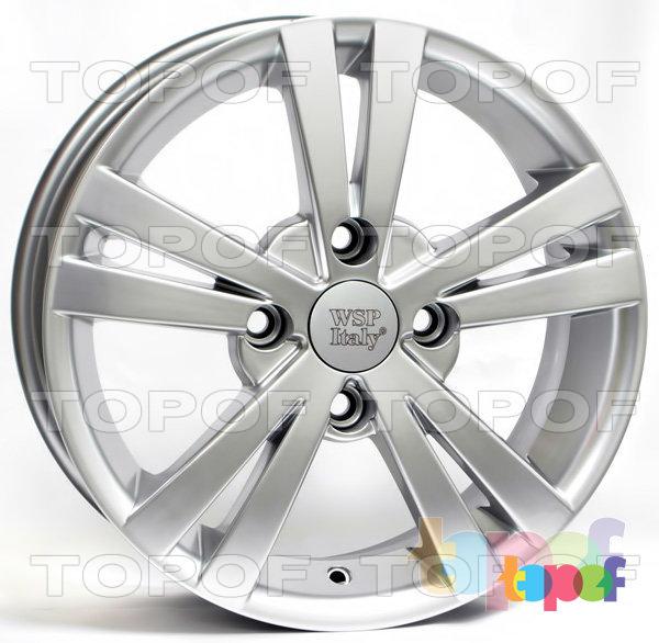 Колесные диски Replica WSP Chevrolet W3602 Tristano. Цвет колесного диска - Hyper Silver (Насыщенный серебряный)
