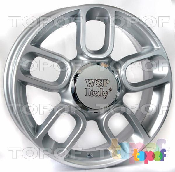 Колесные диски Replica WSP Fiat W156 500 Diamante. Цвет колесного диска - Silver (Серебряный)
