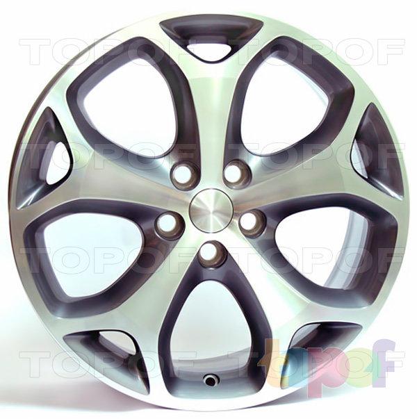 Колесные диски Replica WSP Ford W950 Max Mexico. Цвет колесного диска - Anthracite polished (Антрацит полированный)