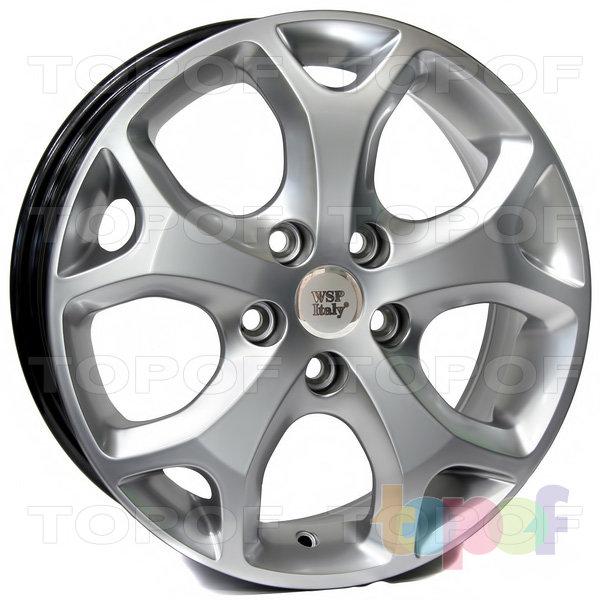 Колесные диски Replica WSP Ford W950 Max Mexico. Цвет колесного диска - Hyper Silver (Насыщенный серебряный)