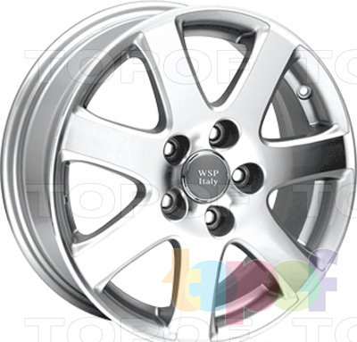 Колесные диски Replica WSP Honda W2401 Solofra. Изображение модели #1