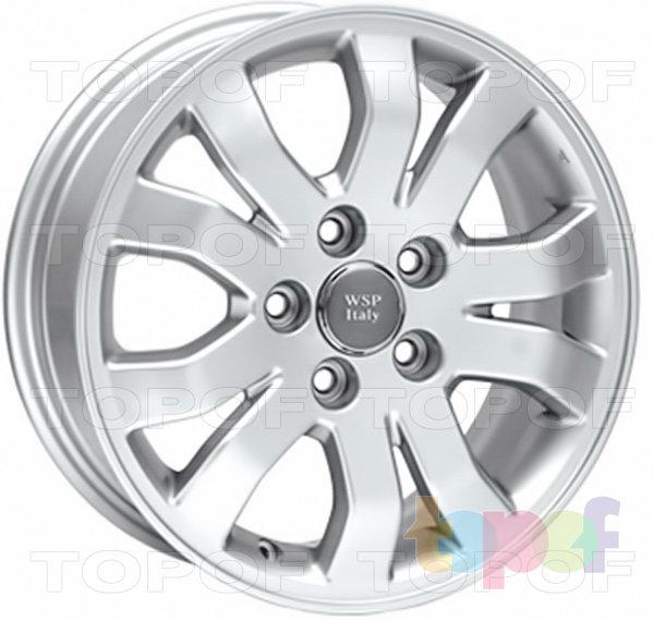 Колесные диски Replica WSP Honda W2402 Cetara. Изображение модели #2
