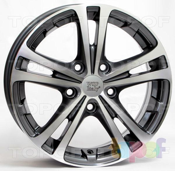 Колесные диски Replica WSP Kia W3502 Danubio RS. Цвет колесного диска - Anthracite polished (Антрацит полированный)