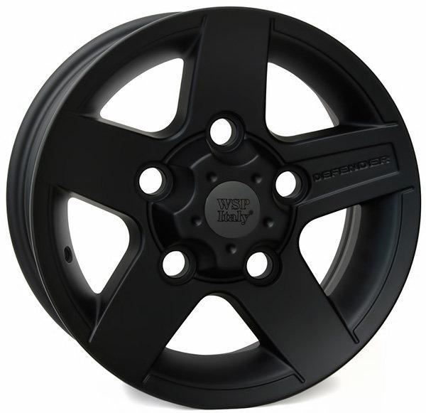 Колесные диски Replica WSP Land Rover W2354 Mali Defender. Цвет колесного диска - Dull black (Черный матовый)