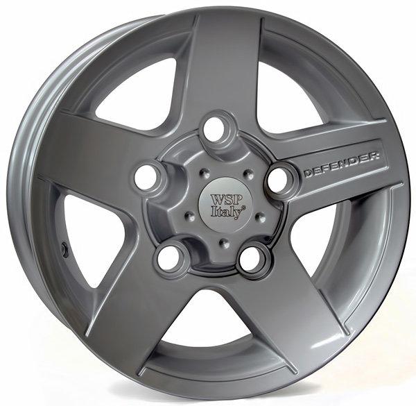 Колесные диски Replica WSP Land Rover W2354 Mali Defender. Цвет колесного диска - Silver (Серебряный)