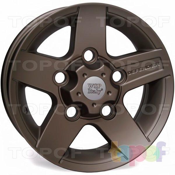 Колесные диски Replica WSP Land Rover W2354 Mali Defender. Цвет колесного диска - Dull bronzed (Бронзовый матовый)