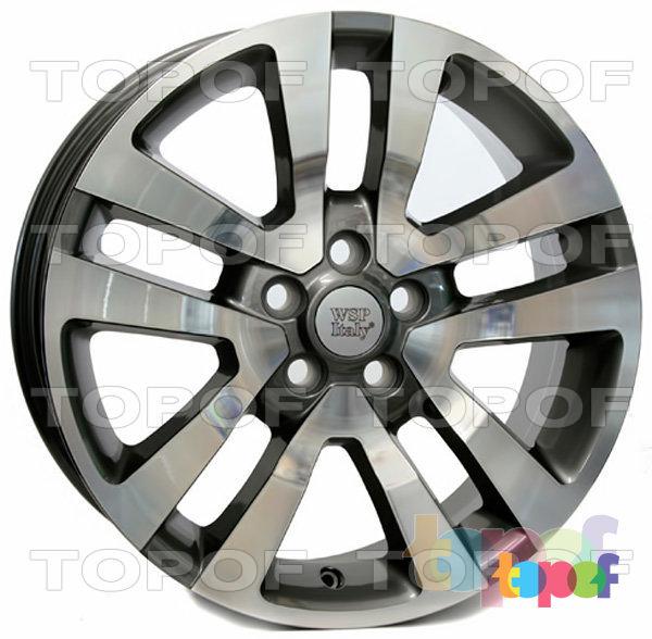 Колесные диски Replica WSP Land Rover W2355 Ares. Цвет колесного диска - Anthracite polished (Антрацит полированный)