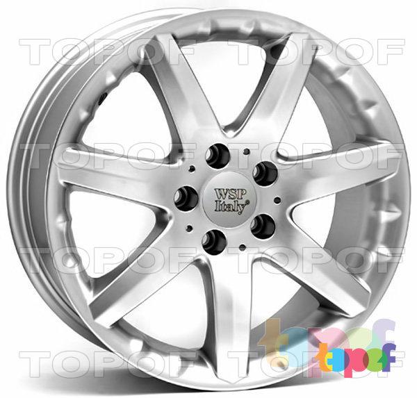 Колесные диски Replica WSP Mercedes W738 Elba. Цвет колесного диска - Hyper Silver (Насыщенный серебряный)