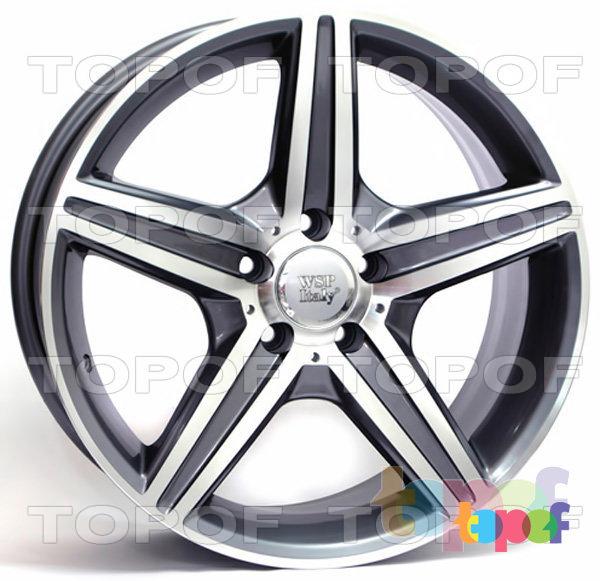Колесные диски Replica WSP Mercedes W758 Capri. Цвет колесного диска - Anthracite polished (Антрацит полированный)