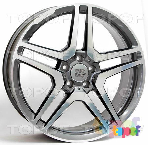 Колесные диски Replica WSP Mercedes W759 Vesuvio. Цвет колесного диска - Anthracite polished (Антрацит полированный)