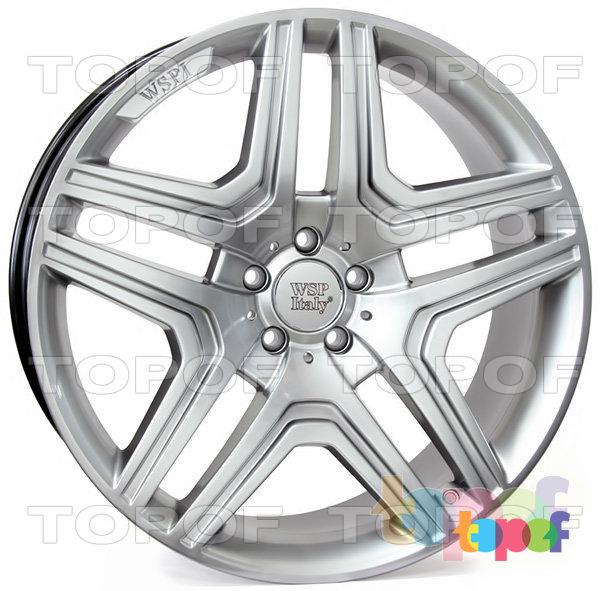 Колесные диски Replica WSP Mercedes W766 Nero. Цвет колесного диска - Hyper Silver (Насыщенный серебряный)