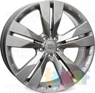 Колесные диски Replica WSP Mercedes W767 Manila. Цвет колесного диска - Silver (Серебряный)