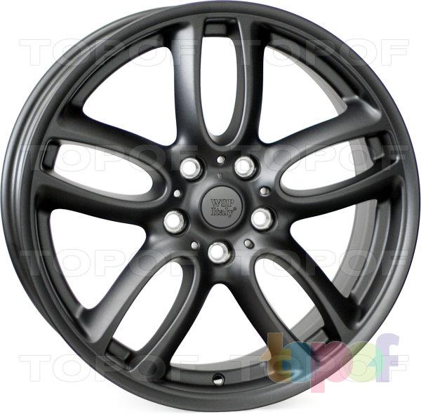 Колесные диски Replica WSP Mini W1654 Amstel / Countryman. Цвет колесного диска - Dull black (Черный матовый)