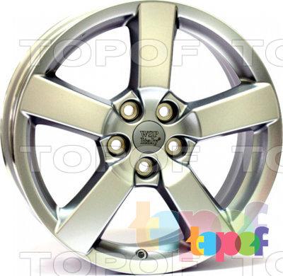 Колесные диски Replica WSP Mitsubishi W3002 Bolton. Изображение модели #1