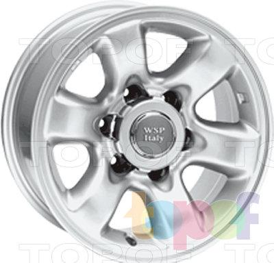 Колесные диски Replica WSP Nissan W1807 Sakai Patrol. Изображение модели #1