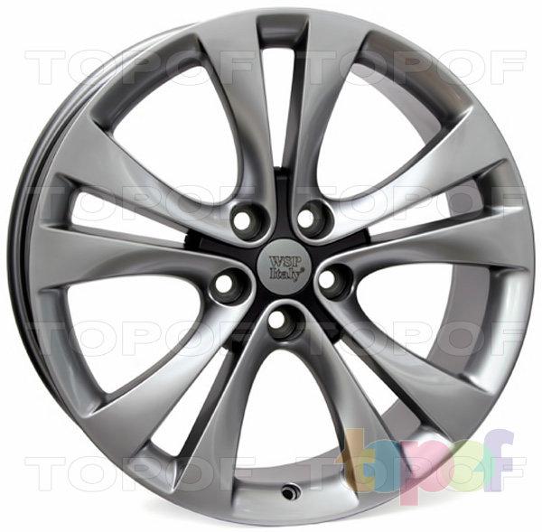 Колесные диски Replica WSP Opel W2506 Mercury. Цвет колесного диска - Hyper Anthracite (Насыщенный антрацит)