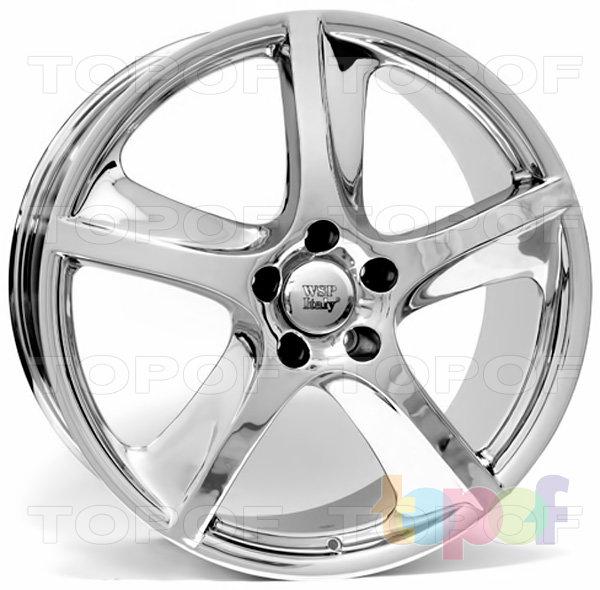 Колесные диски Replica WSP Porsche W1006 Cayenne. Цвет колесного диска - Chrome (Хромированный)