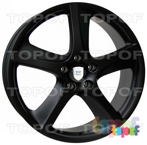 Колесные диски Replica WSP Porsche W1006 Cayenne. Цвет колесного диска - Dull black (Черный матовый)