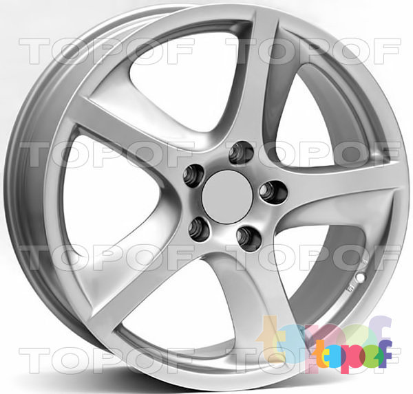 Колесные диски Replica WSP Porsche W1006 Cayenne. Цвет колесного диска - Silver (Серебряный)