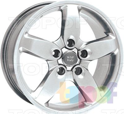 Колесные диски Replica WSP Porsche W1008 Diablo. Изображение модели #1