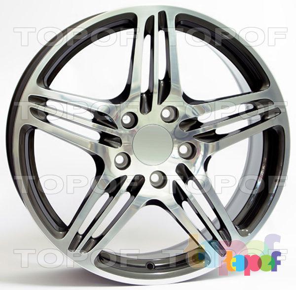 Колесные диски Replica WSP Porsche W1050 Philadelphia. Цвет колесного диска - Anthracite polished (Антрацит полированный)