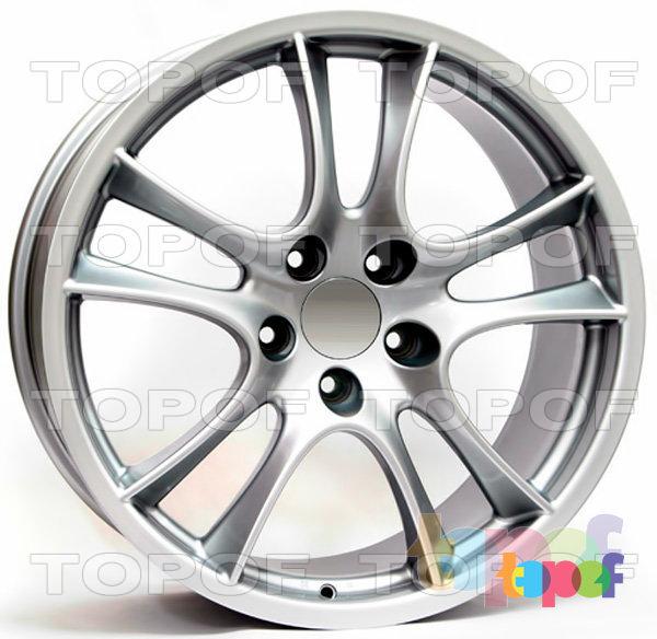 Колесные диски Replica WSP Porsche W1051 Tornado. Цвет колесного диска - Silver (Серебряный)