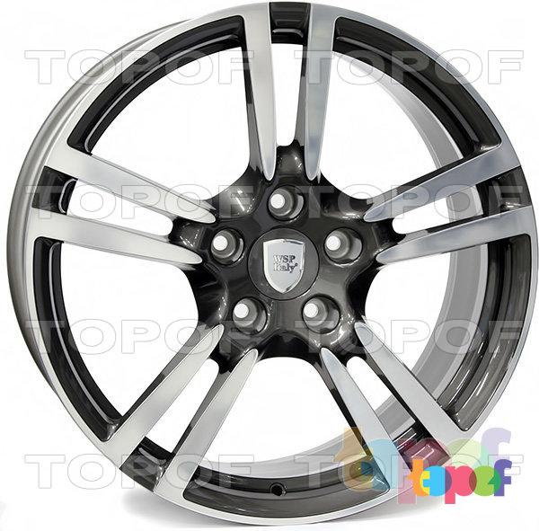 Колесные диски Replica WSP Porsche W1054 Saturn. Цвет колесного диска - Anthracite polished (Антрацит полированный)