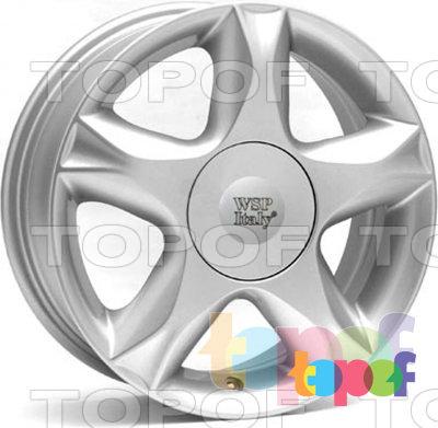 Колесные диски Replica WSP Renault W3304 Nantes. Изображение модели #1