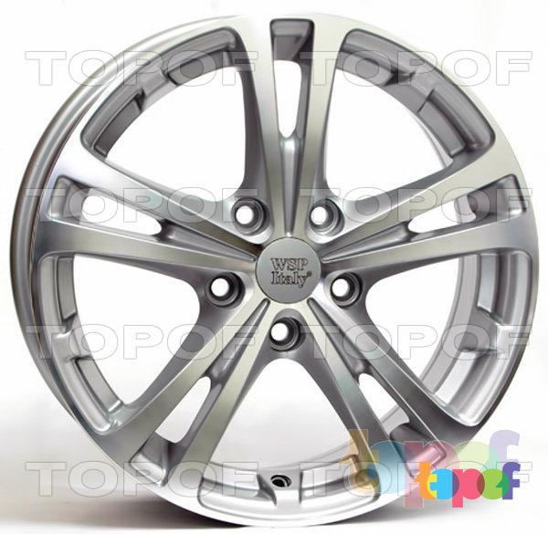 Колесные диски Replica WSP Skoda W3502 Danubio. Цвет колесного диска - Silver (Серебряный)
