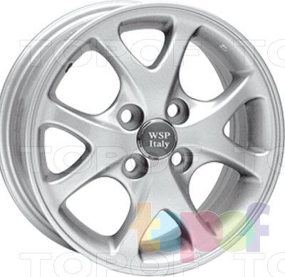 Колесные диски Replica WSP Toyota W1703 Nagasaki Yaris. Изображение модели #1