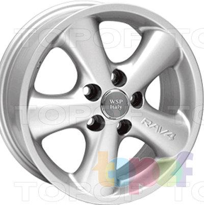 Колесные диски Replica WSP Toyota W1704 Osaka. Изображение модели #1