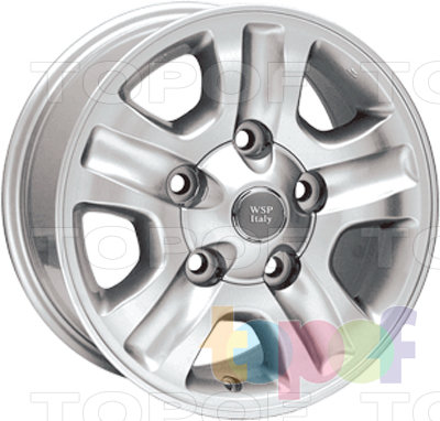 Колесные диски Replica WSP Toyota W1705 Nagoya. Изображение модели #2
