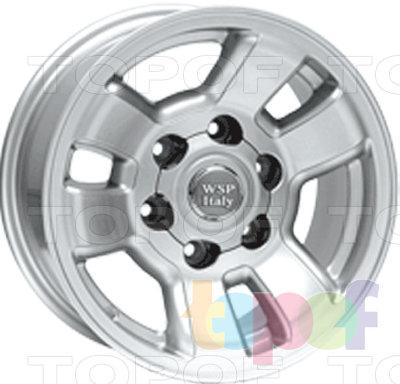 Колесные диски Replica WSP Toyota W1709 4 Runner. Изображение модели #1