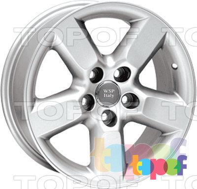 Колесные диски Replica WSP Toyota W1712 Bari. Изображение модели #1