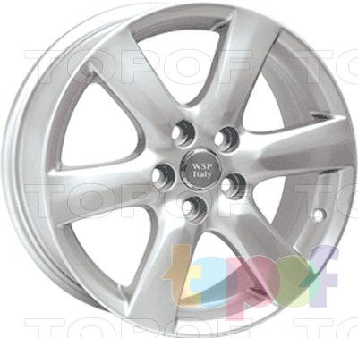 Колесные диски Replica WSP Toyota W1714 Vienna. Изображение модели #1