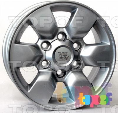 Колесные диски Replica WSP Toyota W1761 Aomori. Изображение модели #1
