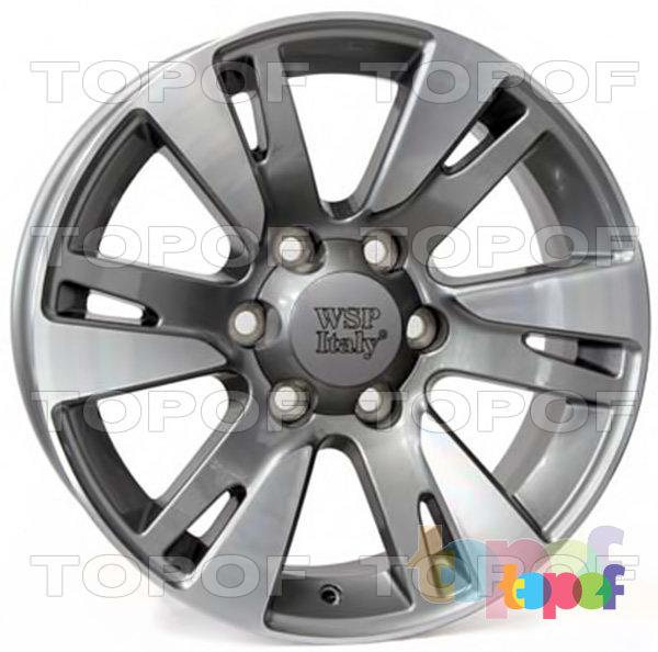Колесные диски Replica WSP Toyota W1765 Venere. Цвет колесного диска - Anthracite polished (Антрацит полированный)