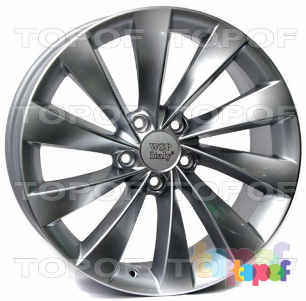 Колесные диски Replica WSP Volkswagen W456 Ginostra. Цвет колесного диска - Silver (Серебряный)